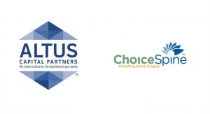 Altus Capital Partners Acquires ChoiceSpine, LP