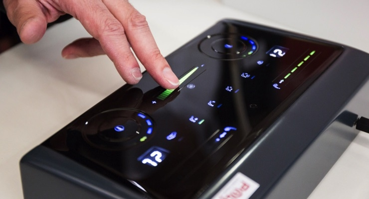 Car designers see opportunities for using printed electronics to create functional surfaces without buttons, knobs and cables. (Source: OE-A)