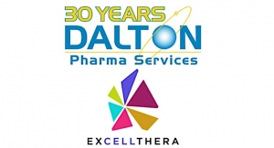 Dalton, ExCellThera in Devt. and Mfg. Pact