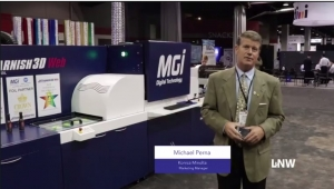 Konica Minolta highlights Jet Varnish 3D