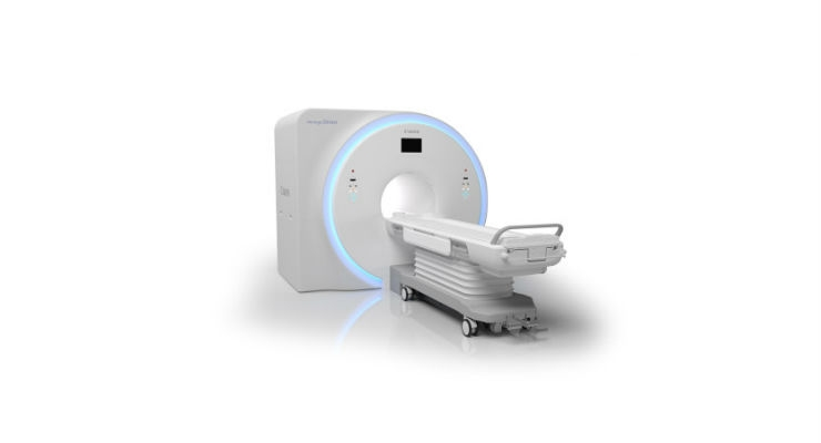 Canon Medical Systems USA, Inc. has received 510(k) clearance on its new premium MRI system, Vantage OrianTM 1.5T. Image courtesy of Business Wire.
