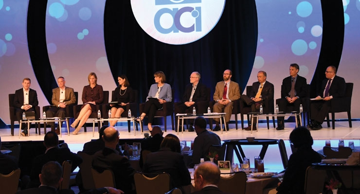 Once again, the ACI staff and industry committee members will give annual meeting and industry convention  attendees an update on critical issues.