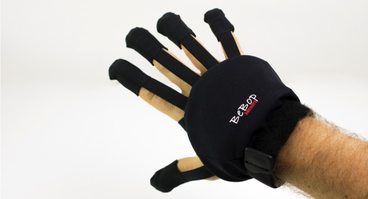 BeBop Sensors' Forte Wireless Data Glove. (Source: BeBop Sensors)