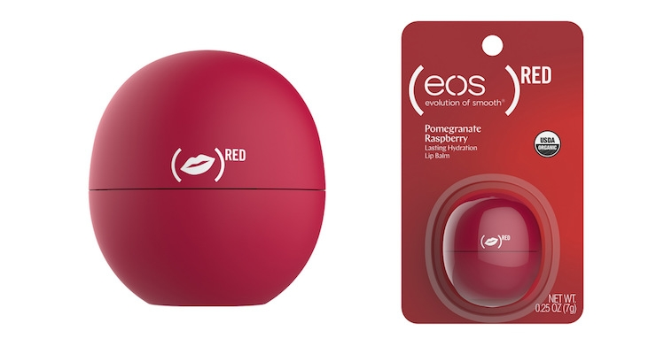 Eos Special Edition Lip Balm Benefits Red Beauty Packaging