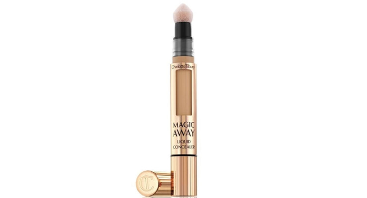 Charlotte Tilbury's Magic Away Liquid Concealer  is a custom solution package designed by Quadpack.
