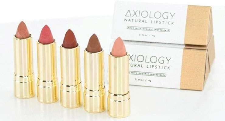 Axiology's packaging is classy, it's organic, vegan and cruelty-free—but its mission doesn't stop there.