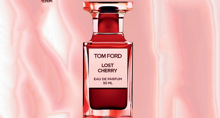 The 50ml Lost Cherry fragrance bottle that Verescence manufactured for Tom Ford Beauty ticks all the boxes for innovation and for being Instagram-able.