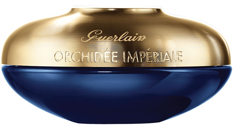 One of Verescence's sustainability focuses is on light weighting glass, as shown with their new jar for Guerlain's Orchidee Imperiale. They have a special furnace to run this glass.