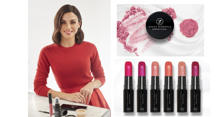 Young Living Names New Brand Ambassador For Its Mineral Makeup Line