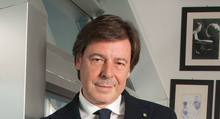 Renato Ancorotti, founder and president, Ancorotti Cosmetics; and the new president of Cosmetica Italia