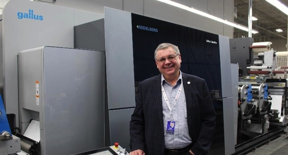 """The new Labelfire 340 will take the company to another level with variable printing,"" says Alan Roberts, Senior Vice President at DCM."