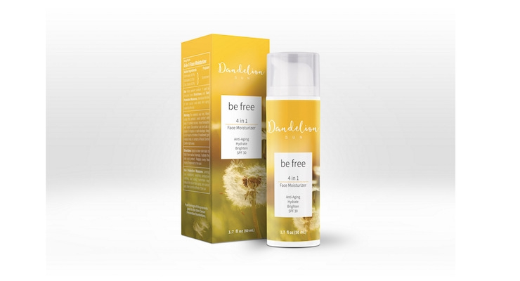 Dandelion Sun Launches Anti-Aging Face Moisturizer