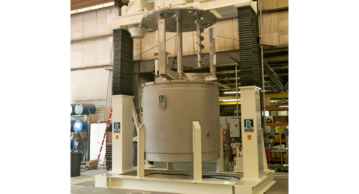 ROSS Unveils 1,500-gallon Multi-shaft Mixer Improvements