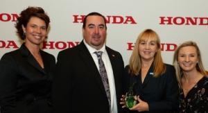 BASF Receives Honda of America's Waste Stewardship Award