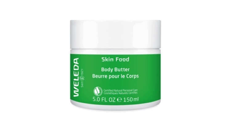 A body butter has been added to Weleda