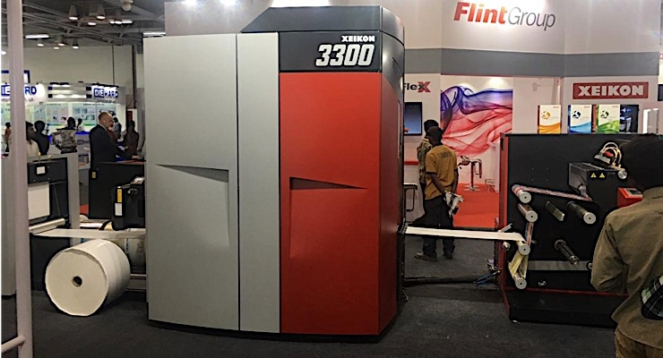 Xeikon 3300 featured at Labelexpo India
