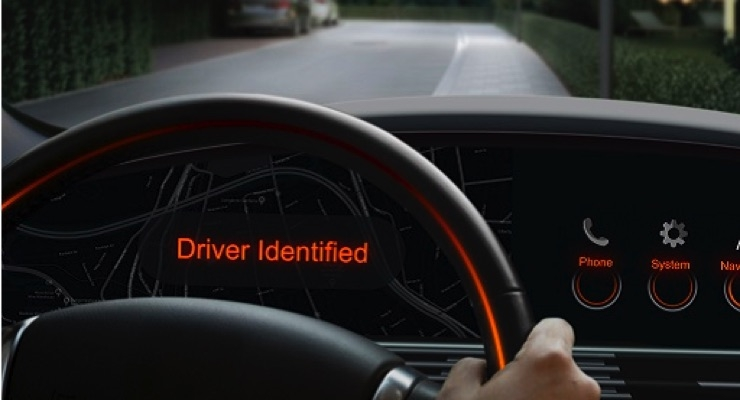 Biometric driver identification thanks to the two IREDs offers numerous benefits, such as automatically unlocking the immobilizer or adjusting the individual seat position. (Source: Osram)