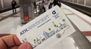 Athens is 100th City Using Confidex's Contactless Smart Tickets