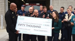 Thrive Causemetics Donates $250,000 in Profits to Help CA Wildfire Victims