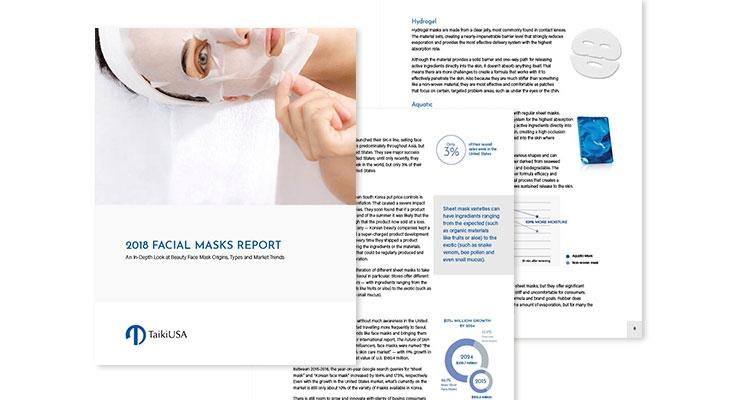 2018 Facial Mask Report