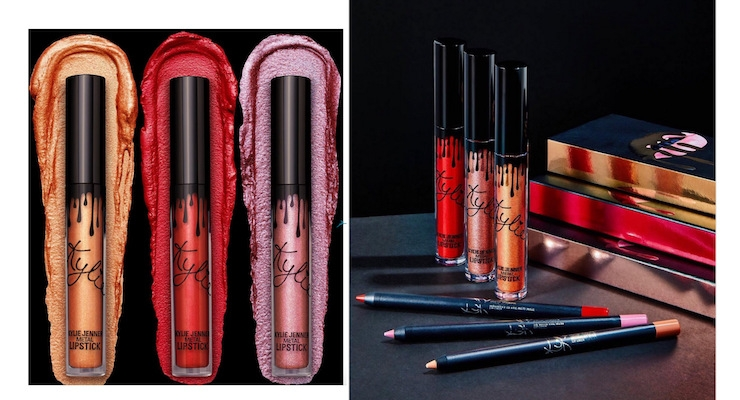 Kylie Launches 3 New Metal Lip Kits