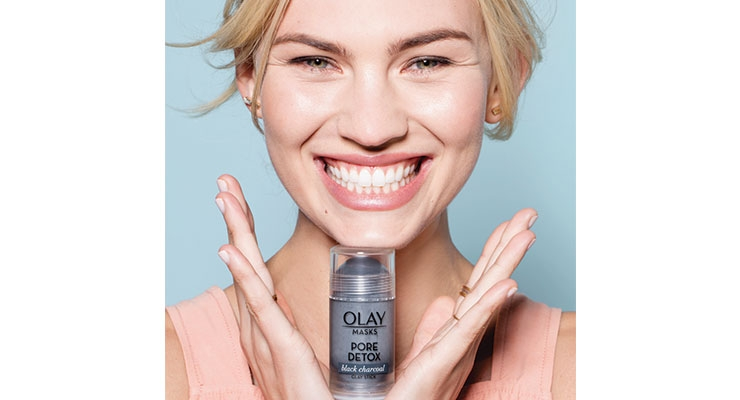Olay recently rolled out a line of stick-based skin care masks.