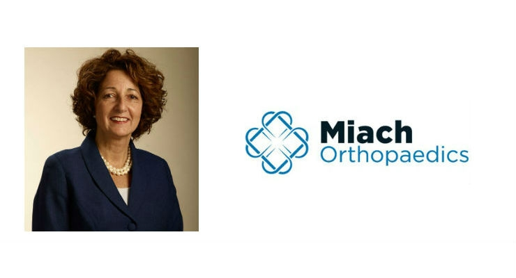 Miach Orthopaedics Appoints New President and CEO