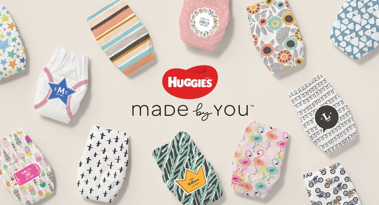Huggies Made by You diapers.