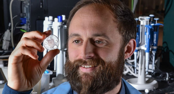 Microneedle Device Could Provide Quicker Diagnoses of Major Illnesses