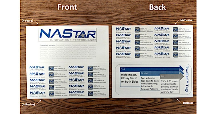NAStar Inc. introduces TwoFer Charity Labels