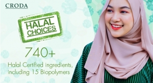 Croda Expands Halal Certified Ingredients