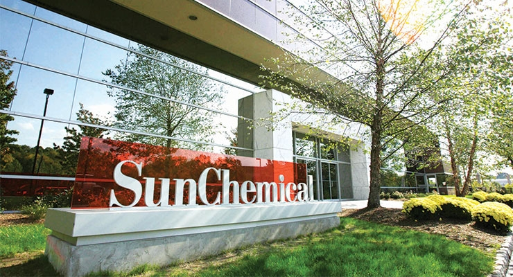 Outside of Sun Chemical's NJ Headquarters in Parsippany.