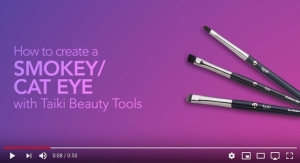 Create A Smokey or Cat Eye with Taiki Beauty Tools