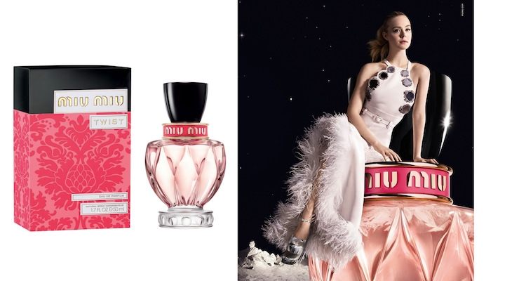 Coty Launches Miu Miu Twist Fragrance with Elle Fanning