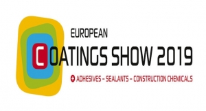 European Coatings Show Expands to Eight Halls for 2019
