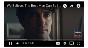 Gillette 'Recommits' To The 'Best a Man Can Get'