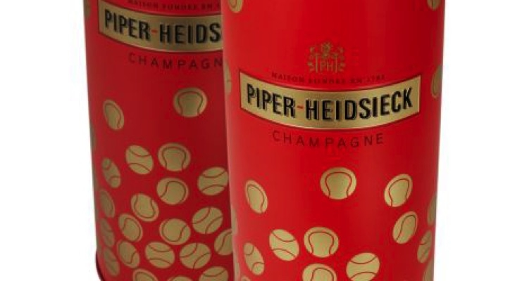 Piper-Heidsieck Champagne, Crown Create Special Packaging for Australian Open