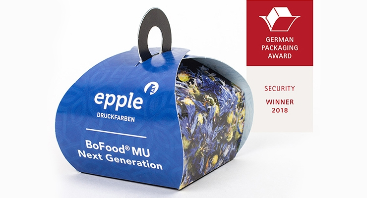 Epple's  BoFood Organic Wins WorldStar Packaging Award 2019