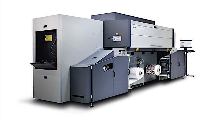 Durst unveils new Tau 330 RSC E press