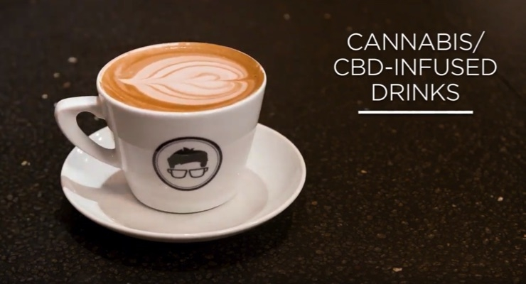 Chefs Name Cannabis-Infused Foods & Beverages as Top Trends for 2019