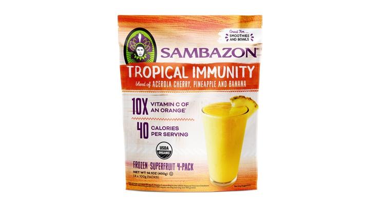 SAMBAZON Launches Tropical Immunity Superfruit Packs