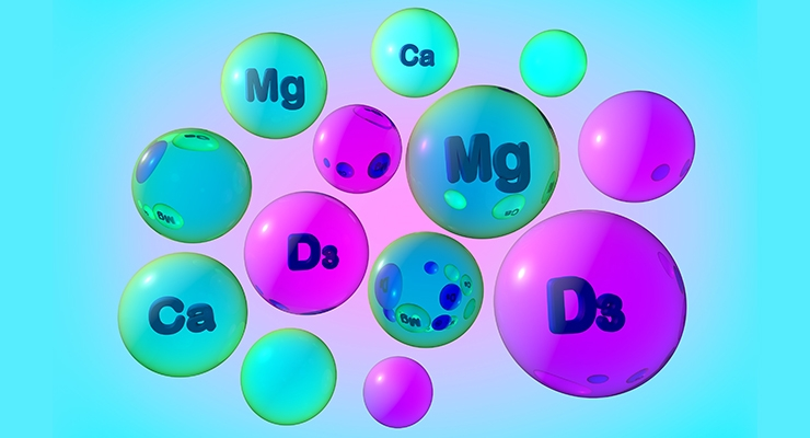 Association: Magnesium Essential to Absorption of Vitamin D & Calcium