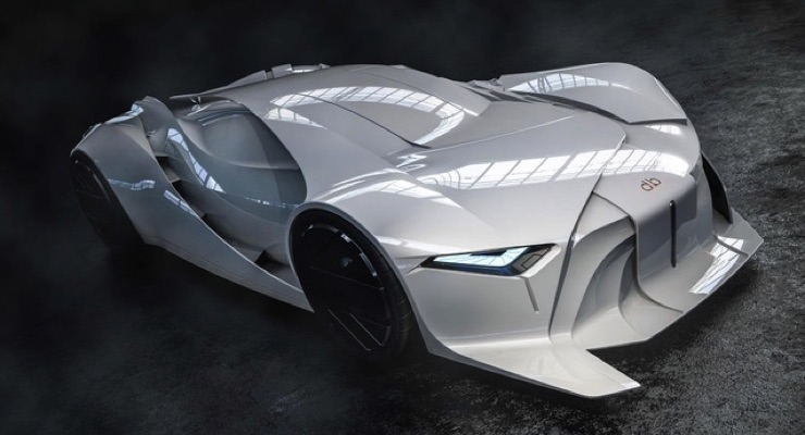 Full Scale 3D Printed Concept Car Debuts at FAI