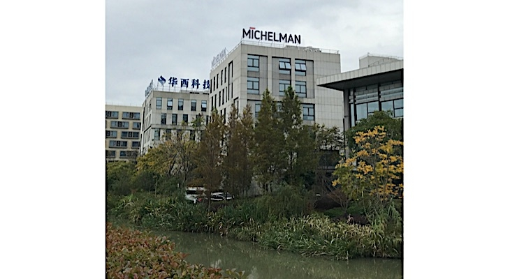 Michelman celebrates grand opening of Sustainability Center in Shanghai