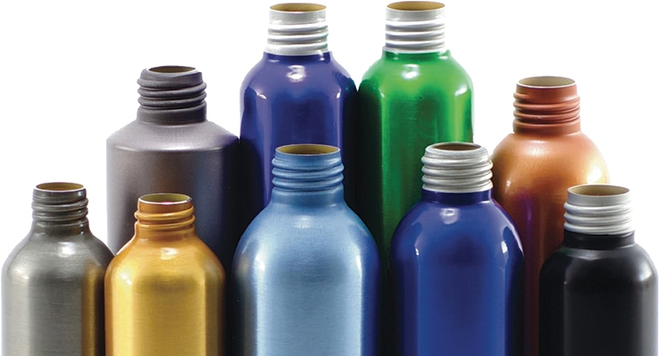 ABA's threaded neck aluminum stock bottles are 100% recyclable.
