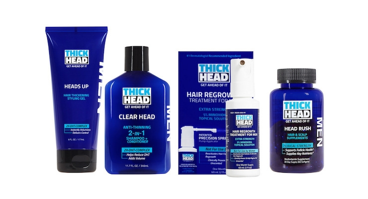Thick Head Haircare Prevents Hair Loss & Regrows Hair