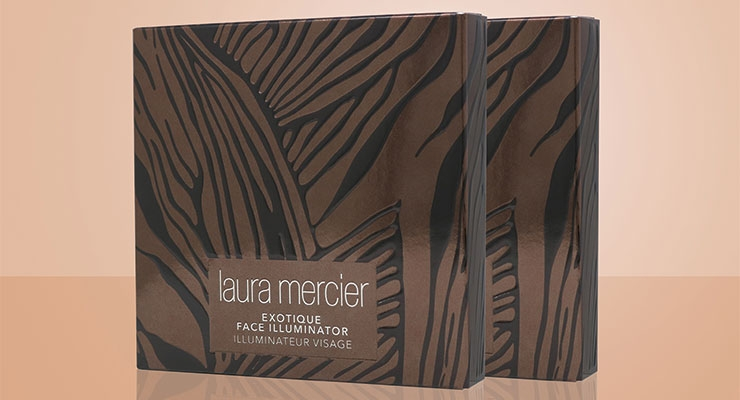 Diamond won an Excellence Award in the 'Cosmetics' category for Laura Mercier's Exotique Face Illuminator packaging.