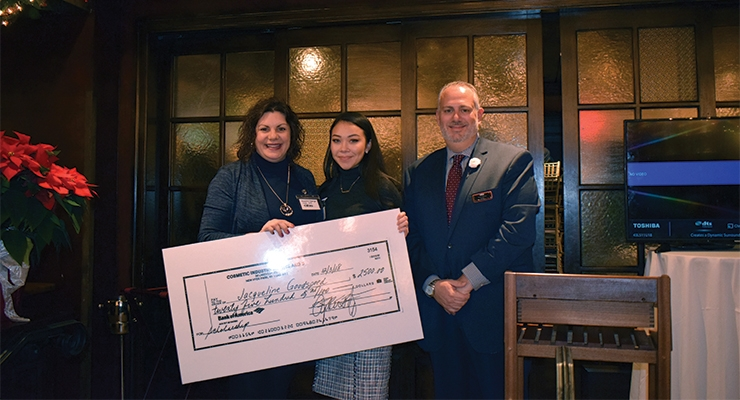 CIBS Scholarship Presented at Year-End Luncheon