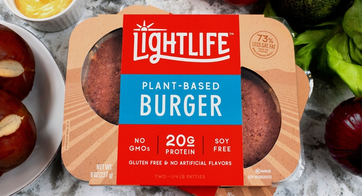 Lightlife Develops New Plant-Based, Pea Protein Burger