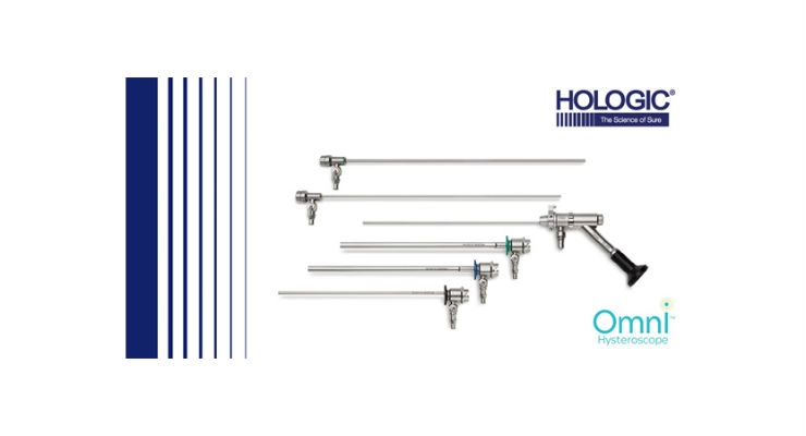 Hologic Launches Three-in-One Omni Hysteroscope